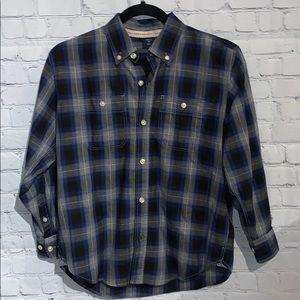 GapKids Boys Plaid Shirt Sz Large (10)